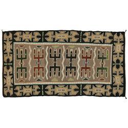 Navajo Teec Nos Pos Weaving, 89 x 48, circa 1925-1940