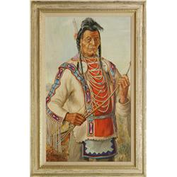 Elizabeth Lochrie, oil on canvas board