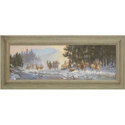 Glen Hopkinson, oil on canvas