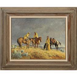 Clark Kelley Price, oil on canvas