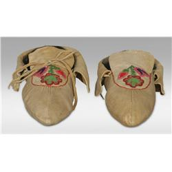 Iroquois Moccasins, Early 20th century