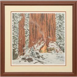 Bev Doolittle, Greenwich Workshop Christmas Print