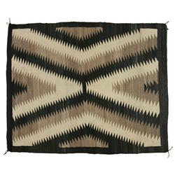 Navajo Weaving, 59 x 48, circa 1930s