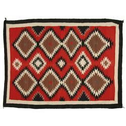 Navajo Weaving, 67 x 50, circa 1940s