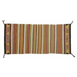 Navajo Saddle Blanket, 60 x 28, circa 1940s