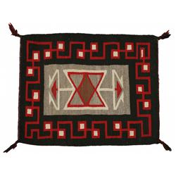 Navajo Teec Nos Pos Weaving, 33 x 26, circa 1940s