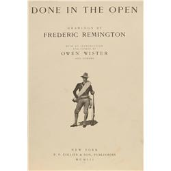 Frederic Remington, Done In The Open 1903 Folio
