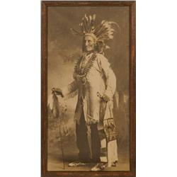 1880s Indian Chief Photograph