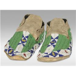 Sioux Moccasins, 19th century