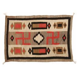 Navajo Weaving, 59 x 41, circa 1910