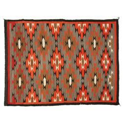Navajo Weaving, 96 x 72, circa 1930s