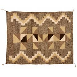 Navajo Weaving, 62 x 50, circa 1950