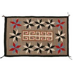 Navajo Crystal Weaving, 61 x 38, circa 1950