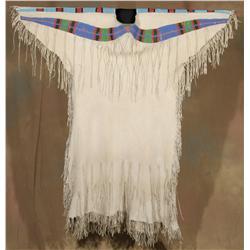 Nez Perce Womans Dress, circa 1880s-1890s
