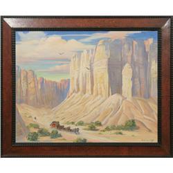 Harold Winfield Scott, oil on canvas