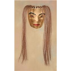 Maggie Joseph, Carved Female Portrait Mask