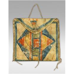 Northern Plains Parfleche Bag, 19th century