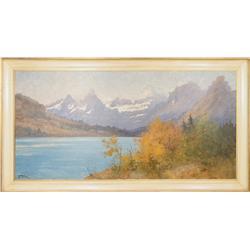 John Fery, large oil on canvas
