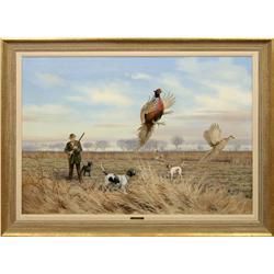 Owen J. Gromme, oil on canvas