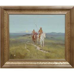 Ace Powell (1912-1978), oil on canvas