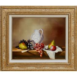 Loran Speck, oil on canvas