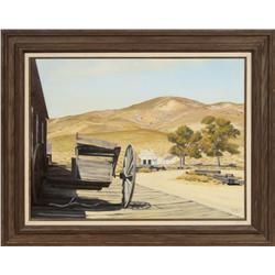 Evelyne Boynton Grierson, oil on canvas