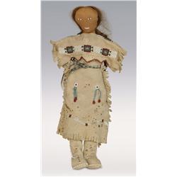 Cheyenne Doll, 19th century