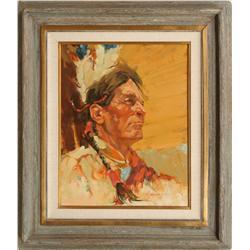 Hal Ashmead, oil on canvas