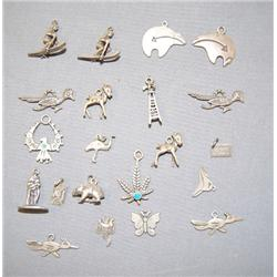 COLLECTION OF WESTERN CHARMS