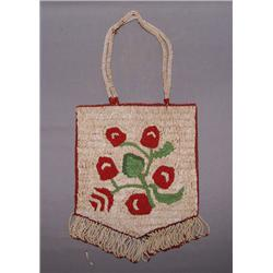 NEZ PERCE BEADED BAG