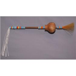 CHEYENNE PEYOTE RATTLE