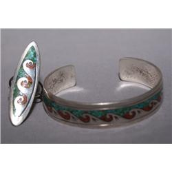 NAVAJO RING AND BRACELET