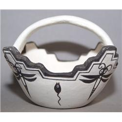 ZUNI POTTERY FETISH BOWL