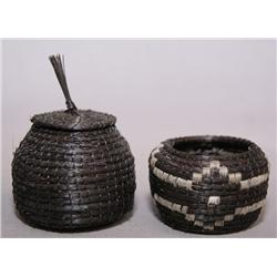 2 MINI PAPAGO BASKETS