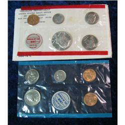 2. 1968 U.S. Mint Set. Original as issued.