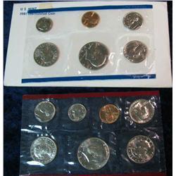 8. 1981 U.S. Mint Set. Original as issued.