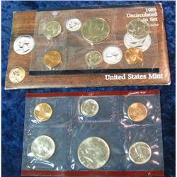 10. 1985 U.S. Mint Set. Original as issued.
