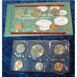 16. 1993 U.S. Mint Set. Original as issued.