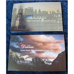 25. 2007 U.S. Mint Set. Original as issued.