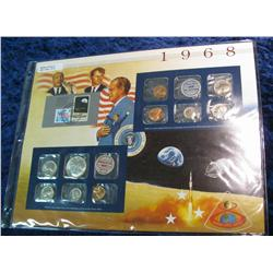 37. 1968 U.S. Silver Mint Set in a special display page.