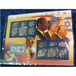 48. 1978 U.S. Mint Set in a special display page.