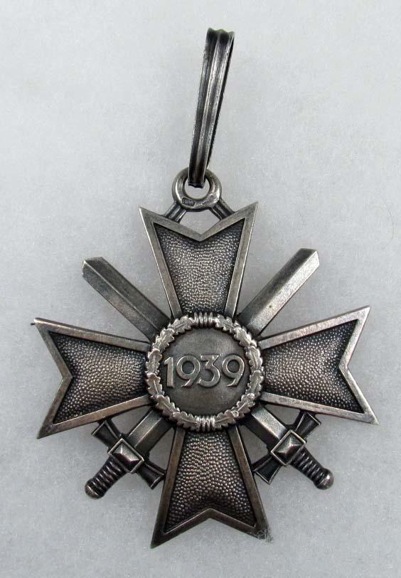 951f9f041b2f7 WW2 GERMAN NAZI KNIGHTS CROSS TO THE WAR MERIT CRO