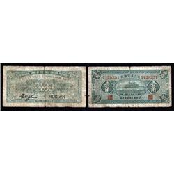 China - Provincial  - Provincial Bank of Three Eastern Provinces, 1929 Issue.