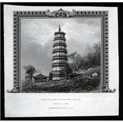 "China - Proof Vignettes - ""American-China Development Company"" Proof Vignette From ABNC Archives."