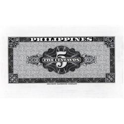 Philippines - Central Bank of the Philippines, 1949 Issue Color Trial Banknote by SBNC.