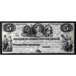 Canada - Farmer's Joint Stock Bank, 1949 Second Issue Obsolete Banknote.