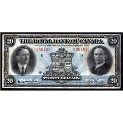 Canada - The Royal Bank of Canada, 1927 Issue Banknote.
