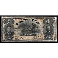 Canada - Dominion of Canada, $1, 1898 Issue.