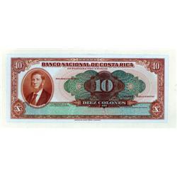 Costa Rica - Banco Nacional De Costa Rica, 1942-44 Issue Proof.
