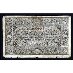 German States - Russia - Kingdom of Prussia, 1809 Treasury Notes Issue.